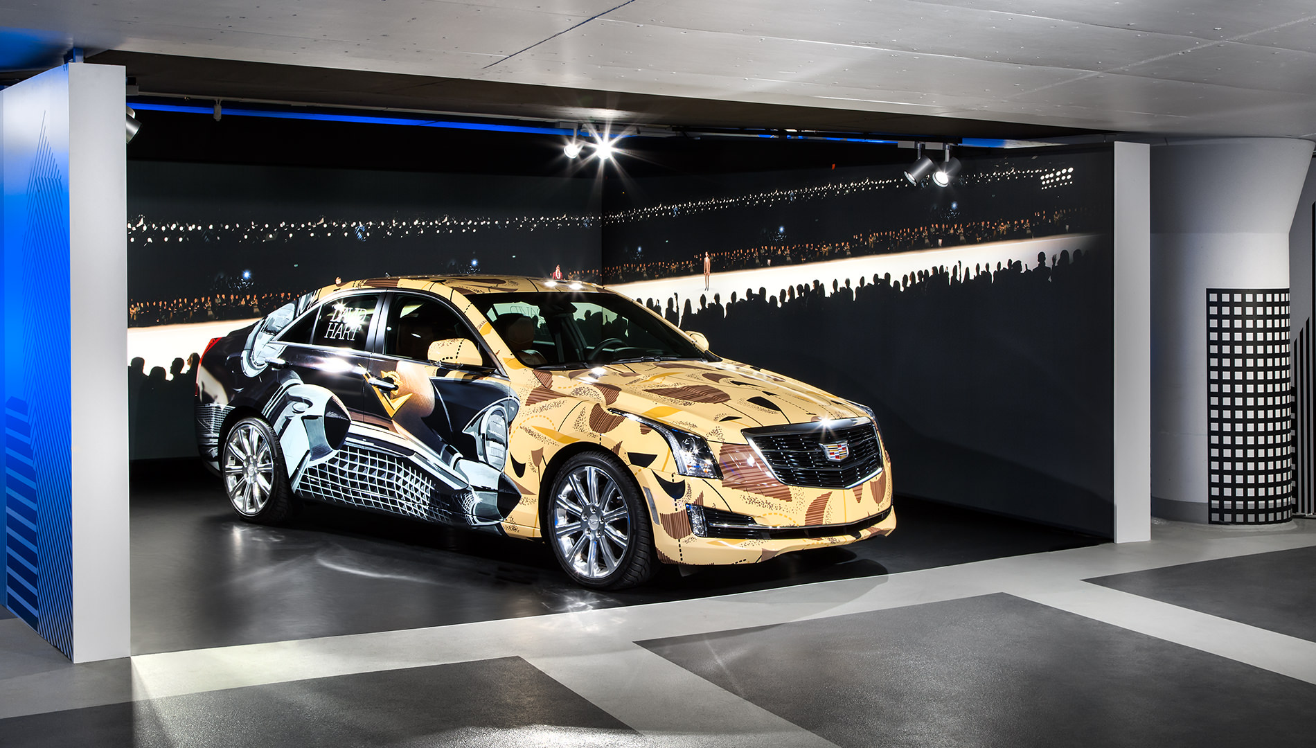 Messe Design Live Kommunikation Berlin Cadillac Experience Auto Parkhaus Going Places EventLabs