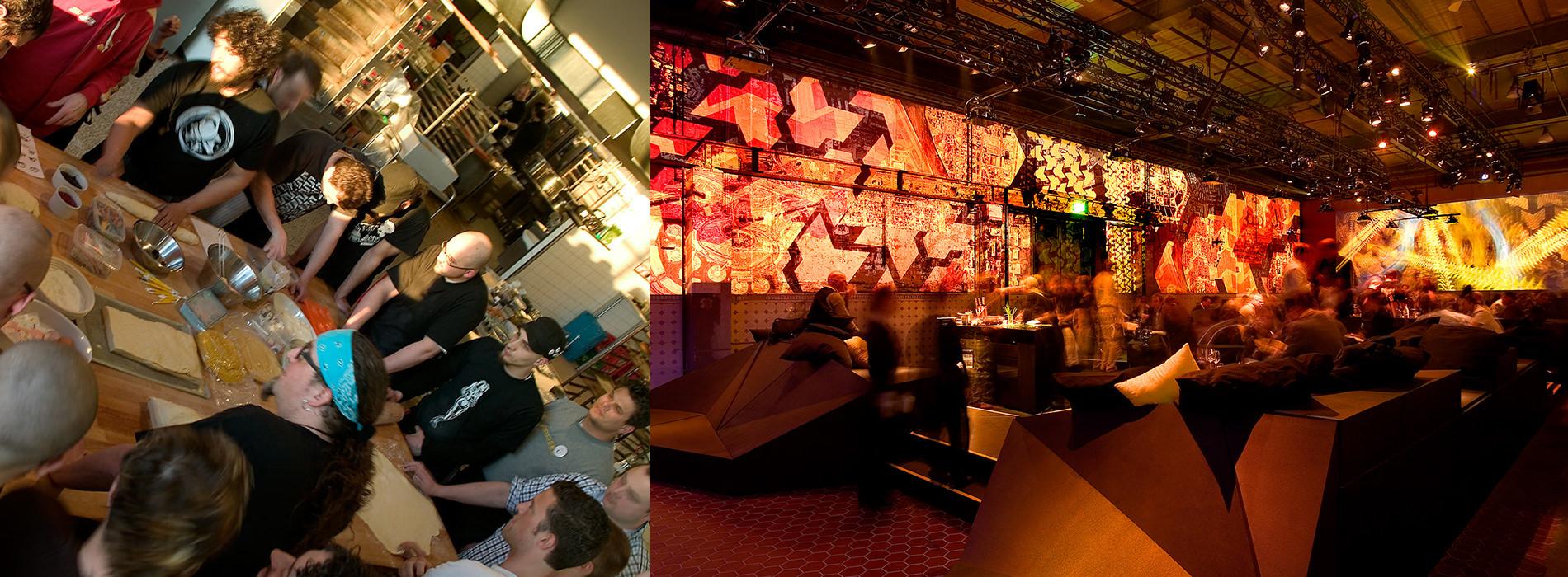 Messe Design Live Kommunikation Kopenhagen VW Projekt Fox Hotel Club Bar Restaurant Gäste Going Places EventLabs
