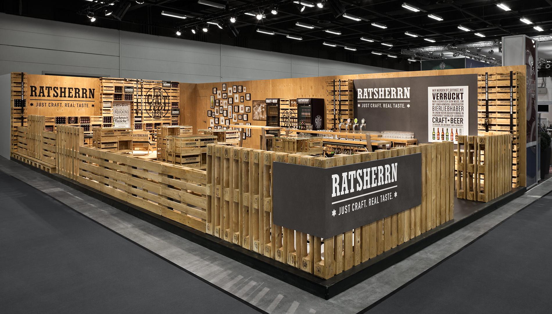 Messe Design Live Kommunikation Hamburg Internorga Ratsherrn Corporate Architecture Messestand Going Places EventLabs