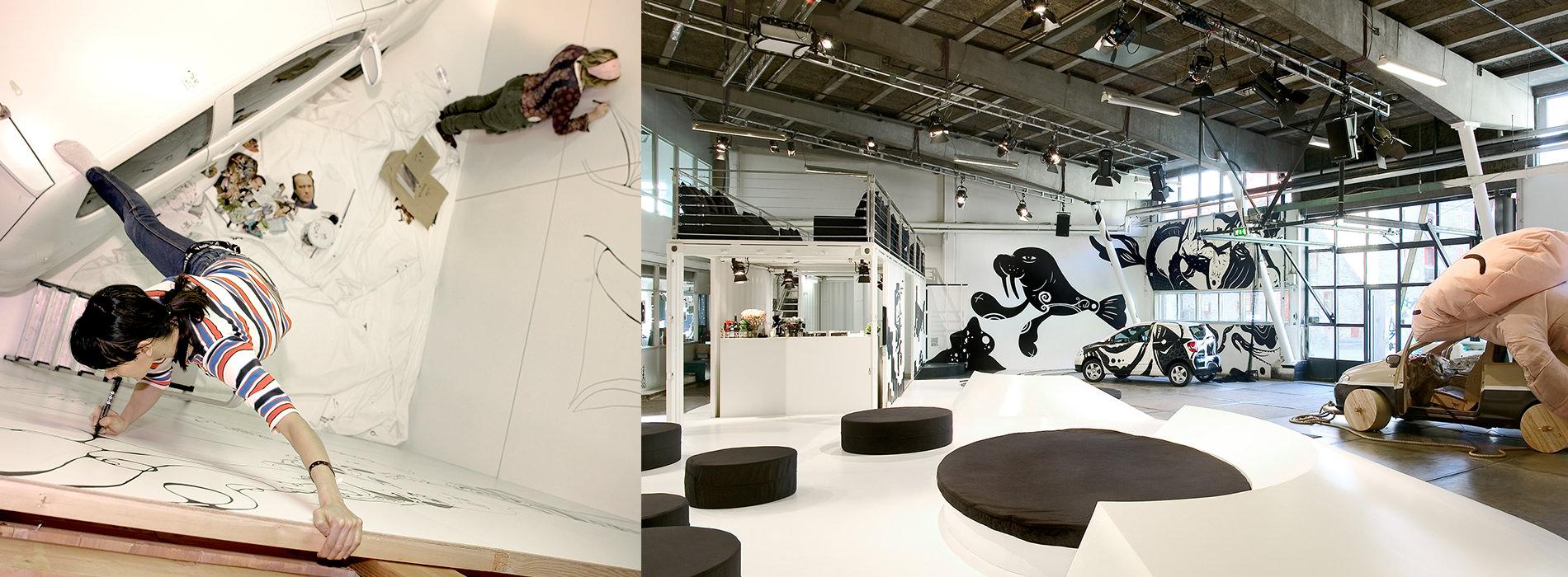 Messe Design Live Kommunikation Kopenhagen VW Projekt Fox Hotel Studio Going Places EventLabs