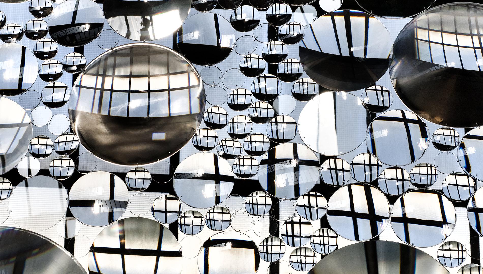 Messe Design Live Kommunikation Köln Mülheim Carlswerk Olympus Perspective Playground Acryl-Linsen Going Places EventLabs