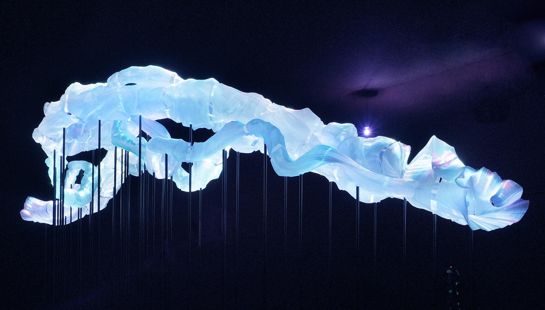 Messe Design Live Kommunikation Köln Mülheim Carlswerk Olympus Perspective Playground Skulptur Going Places EventLabs