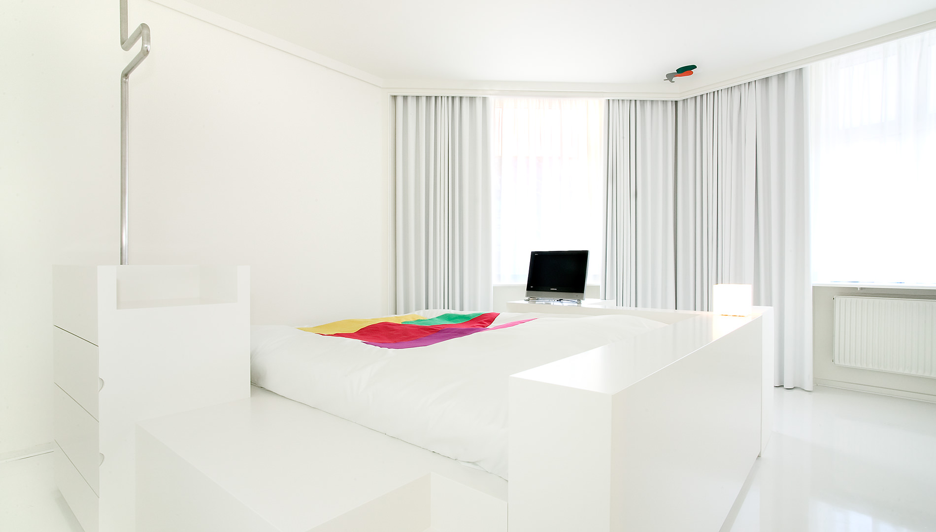 Messe Design Live Kommunikation Kopenhagen Hotel Fox Hotelzimmer Bett Going Places EventLabs